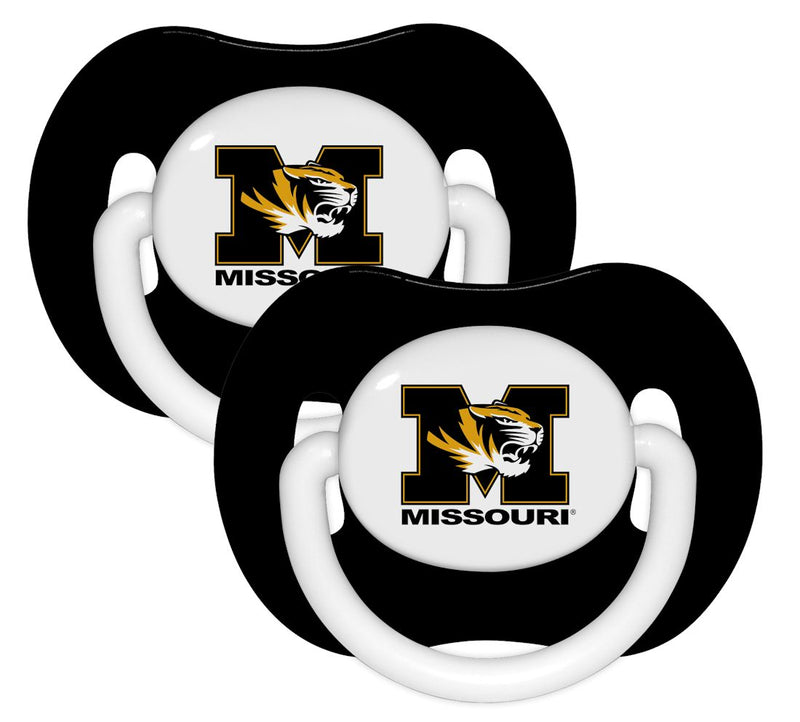 Missouri Tigers Pacifier 2 Pack
