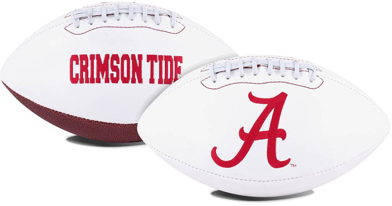 Alabama Crimson Tide Football Full Size Embroidered Signature Series