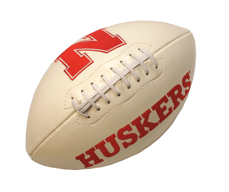 Nebraska Cornhuskers Football Full Size Embroidered Signature Series