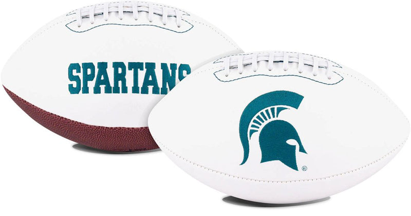 Michigan State Spartans Football Full Size Embroidered Signature Series