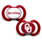 Oklahoma Sooners Pacifier 2 Pack