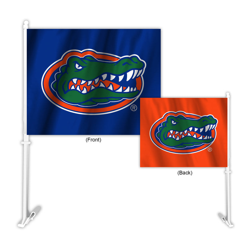 Florida Gators Flag Car Style Home-Away Design - Special Order