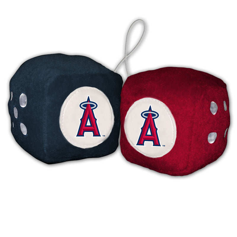Los Angeles Angels Fuzzy Dice - Special Order