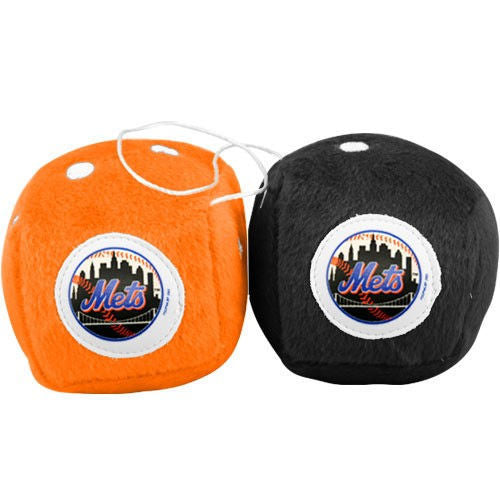 New York Mets Fuzzy Dice