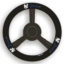 New York Yankees Steering Wheel Cover Leather Style