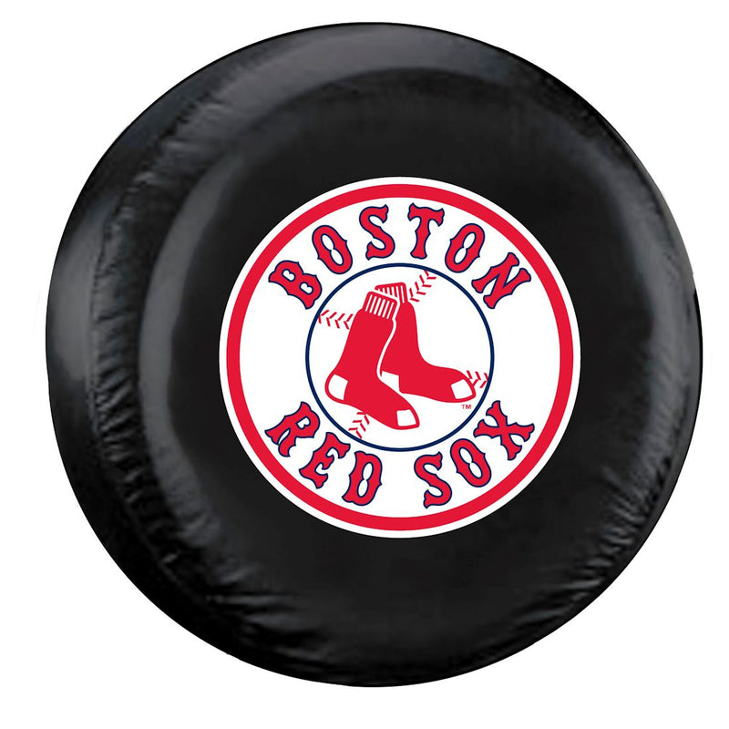 Boston Red Sox Tire Cover Large Size Black