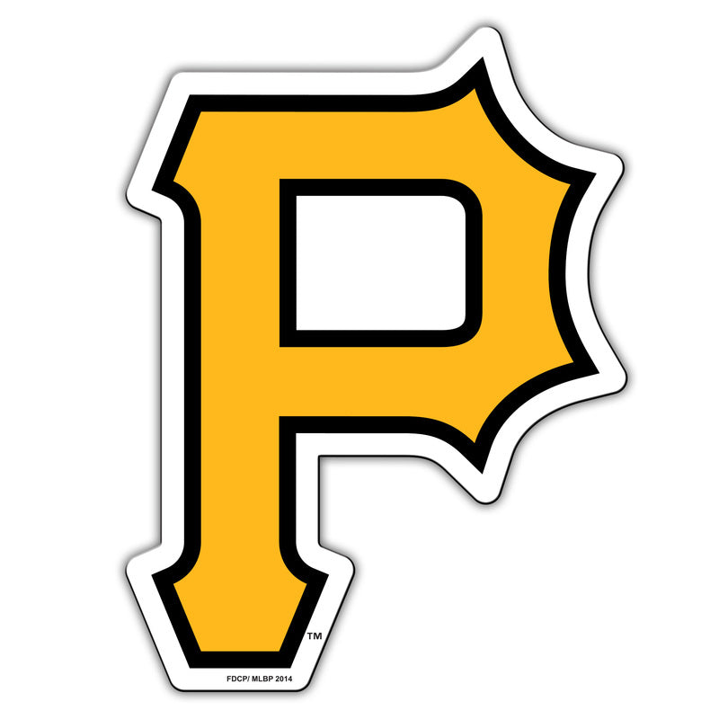Pittsburgh Pirates Magnet Car Style 12 Inch