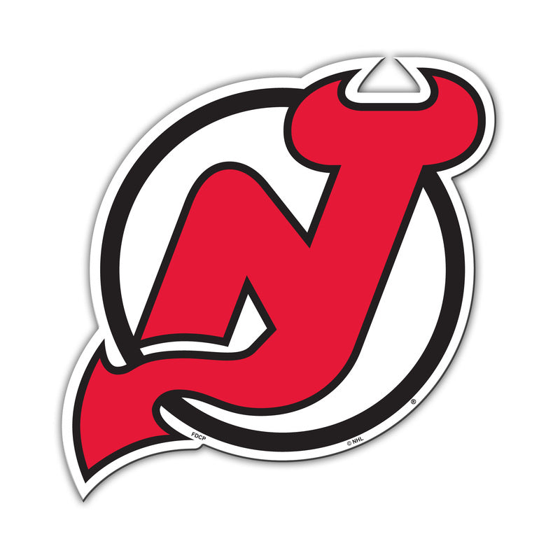 New Jersey Devils Magnet Car Style 12 Inch - Special Order