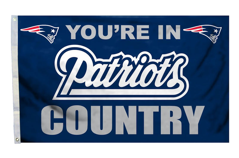 New England Patriots Flag 3x5 Country