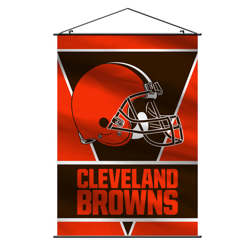 Cleveland Browns Banner 28x40 Wall Style - Special Order