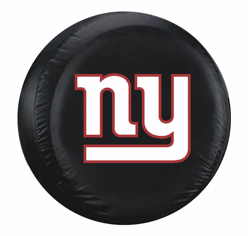 New York Giants Tire Cover Large Size Black - Special Order
