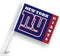 New York Giants Car Flag