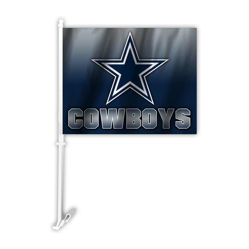 Dallas Cowboys Flag Car Style Ombre Design Design