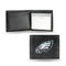 Philadelphia Eagles Wallet Billfold Leather Embroidered Black