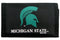 Michigan State Spartans Wallet Nylon Trifold