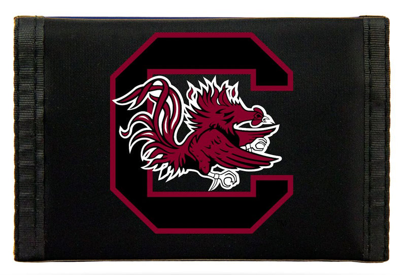 South Carolina Gamecocks Wallet Nylon Trifold