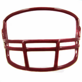 Riddell VSR4 Mini Face Mask - Maroon