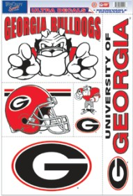 Georgia Bulldogs Decal 11x17 Ultra