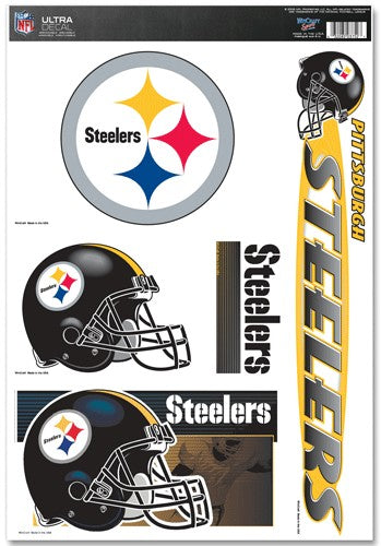 Pittsburgh Steelers Decal 11x17 Ultra