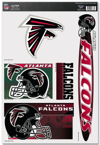 Atlanta Falcons Decal 11x17 Ultra