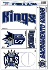 NBA - Sacramento Kings - Decals Stickers Magnets