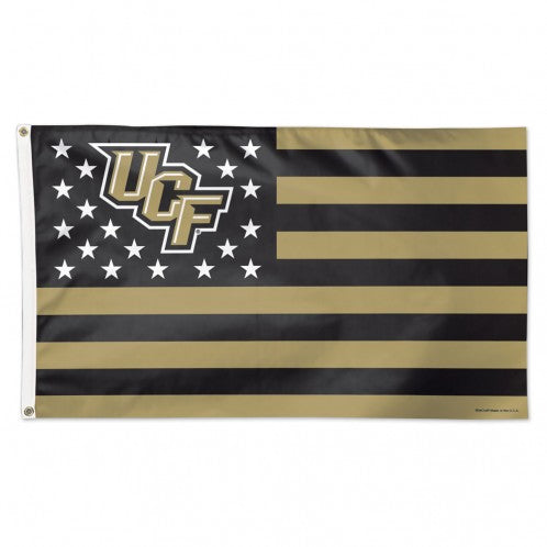 Central Florida Knights Flag 3x5 Deluxe Style Stars and Stripes Design - Special Order
