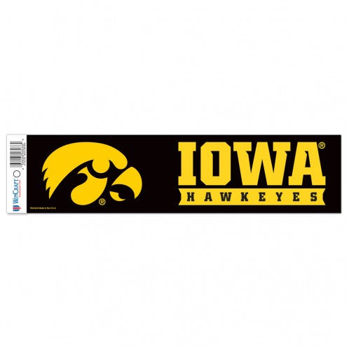 Iowa Hawkeyes Bumper Sticker