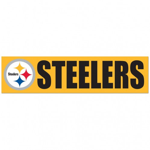 Pittsburgh Steelers Decal Bumper Sticker