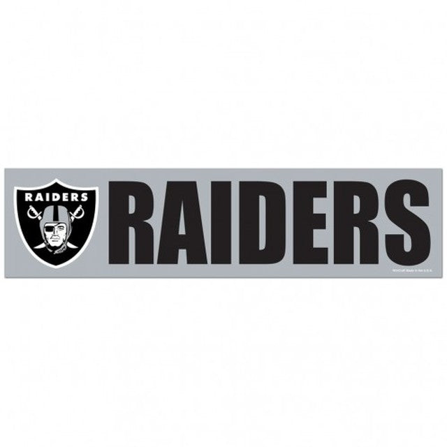 Oakland Raiders Decal Bumper Sticker
