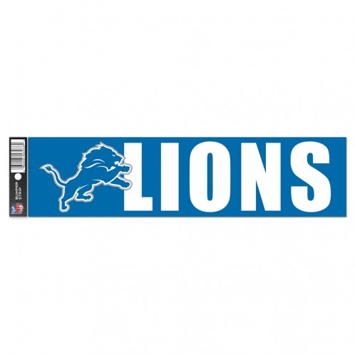 Detroit Lions Decal Bumper Sticker
