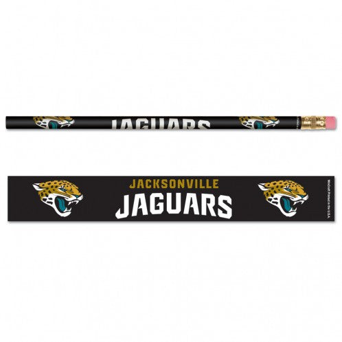 Jacksonville Jaguars Pencil 6 Pack