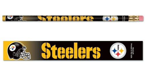 Pittsburgh Steelers Pencil 6 Pack
