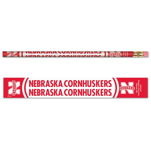 Nebraska Cornhuskers  Pencil 6 Pack