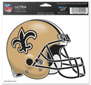 New Orleans Saints Decal 5x6 Ultra Color