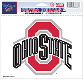 Ohio State Buckeyes Decal 5x6 Ultra Color