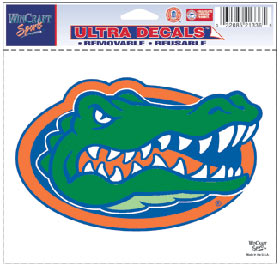 Florida Gators Decal 5x6 Ultra Color