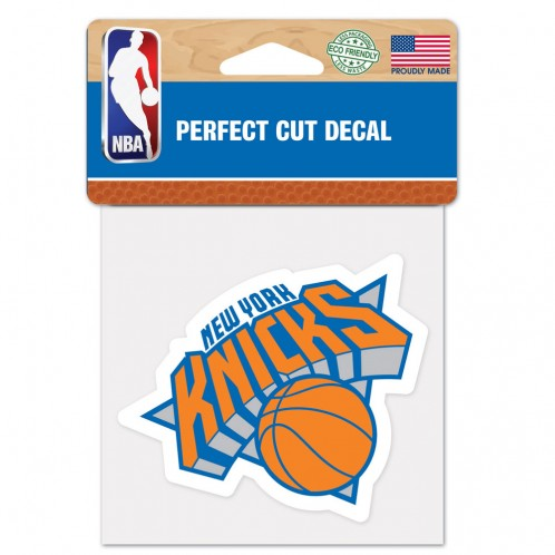 New York Knicks Decal 4x4 Perfect Cut Color