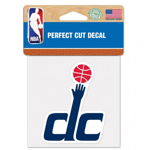 Washington Wizards Decal 4x4 Perfect Cut Color - Special Order
