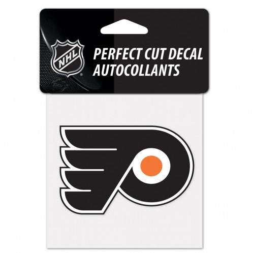 Philadelphia Flyers Decal 4x4 Perfect Cut Color