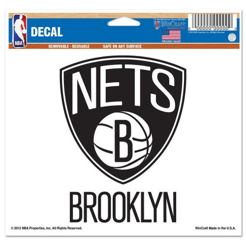 NBA - Brooklyn Nets - Decals Stickers Magnets