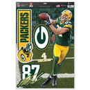 Green Bay Packers Jordy Nelson Decal 11x17 Multi Use
