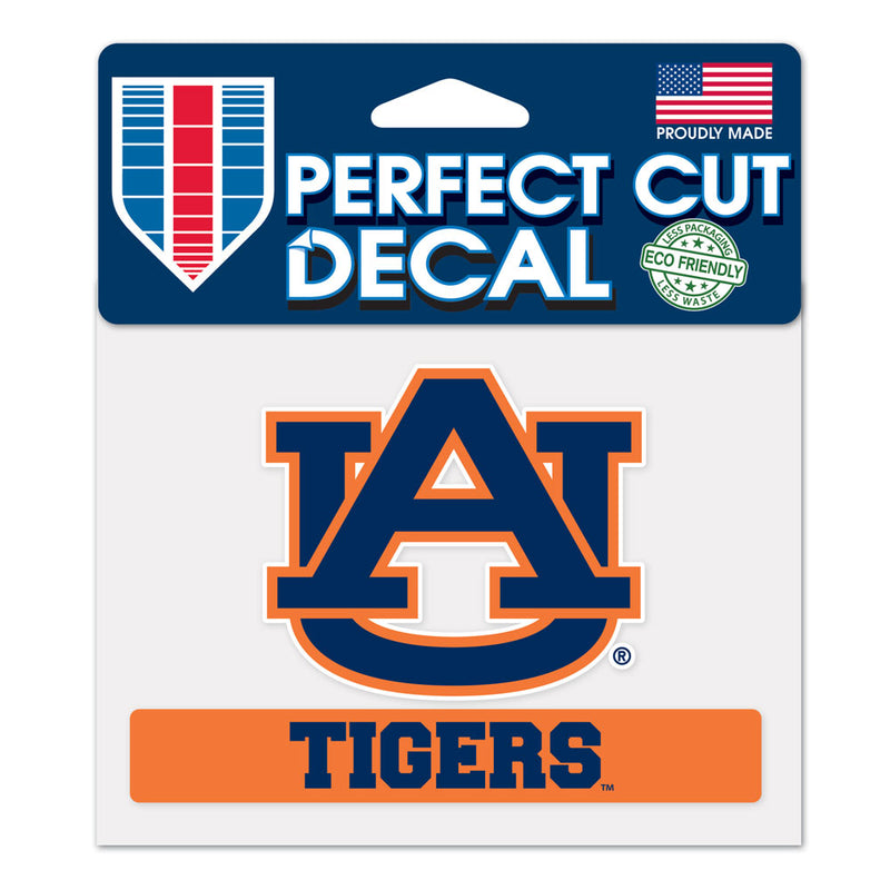 Auburn Tigers Decal 4.5x5.75 Perfect Cut Color - Special Order