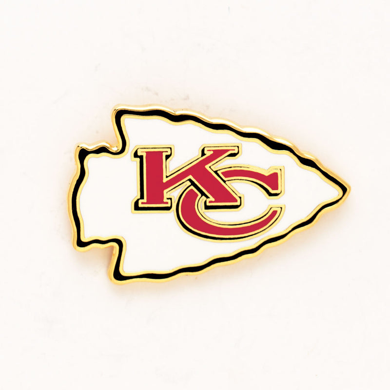 Kansas City Chiefs Collector Pin Jewelry Card - Special Order
