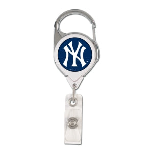 New York Yankees Retractable Premium Badge Holder