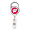 Wisconsin Badgers Retractable Premium Badge Holder