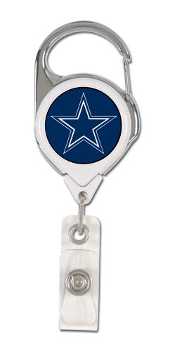 Dallas Cowboys Retractable Premium Badge Holder