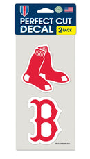 Boston Red Sox Set of 2 Die Cut Decals