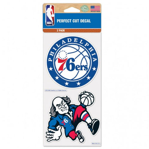 NBA - Philadelphia 76ers - Decals Stickers Magnets