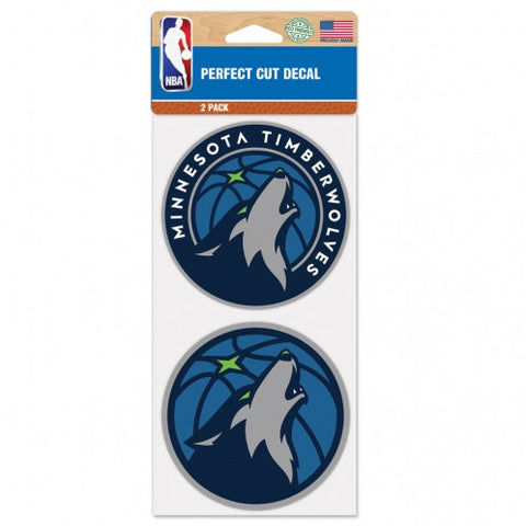 NBA - Minnesota Timberwolves - Decals Stickers Magnets