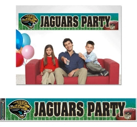 Jacksonville Jaguars Banner 12x65 Party Style